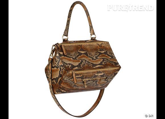 Les it-bags de cet été 2012 :   Givenchy par Riccardo Tisci    Sac Pandora en python, 2900 €.