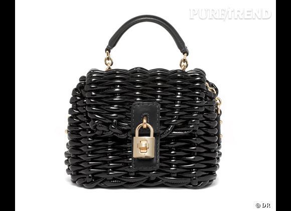 Les it-bags de cet été 2012 : Dolce & Gabbana     Sac Basket Case.