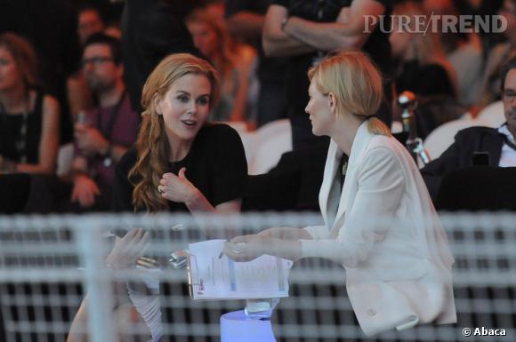 Nicole Kidman et Cate Blanchett.