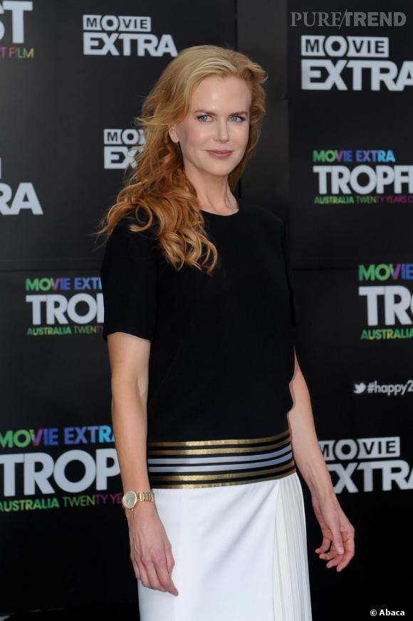 Nicole Kidman ou le trop plein de laque.