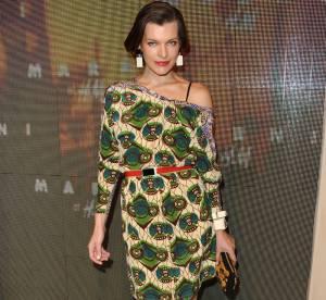 Milla Jovovich vs Jessica Chastain : la robe Marni pour H&M