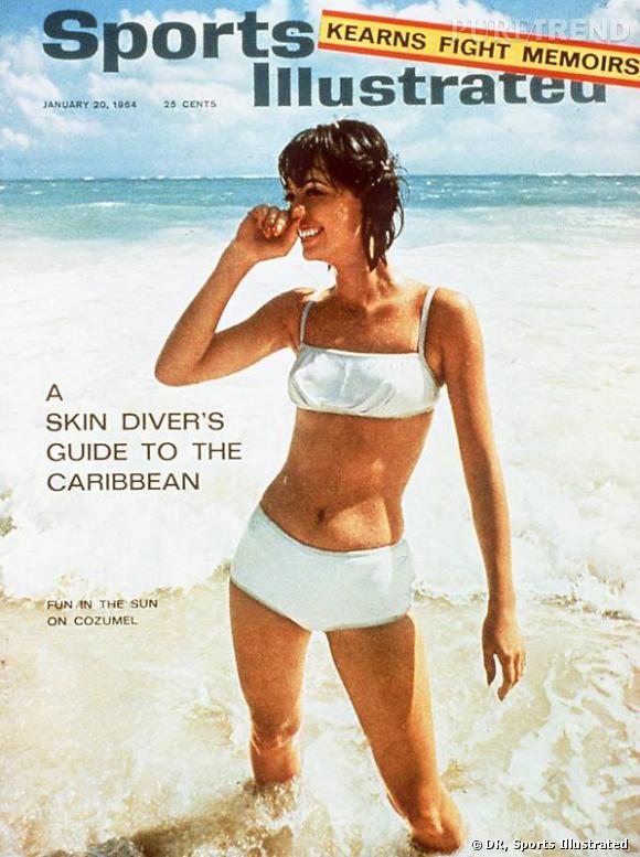 Irina Shawk est la première à faire la couverture de l'édition spéciale maillots de bain de Sports Illustrated en 1964.