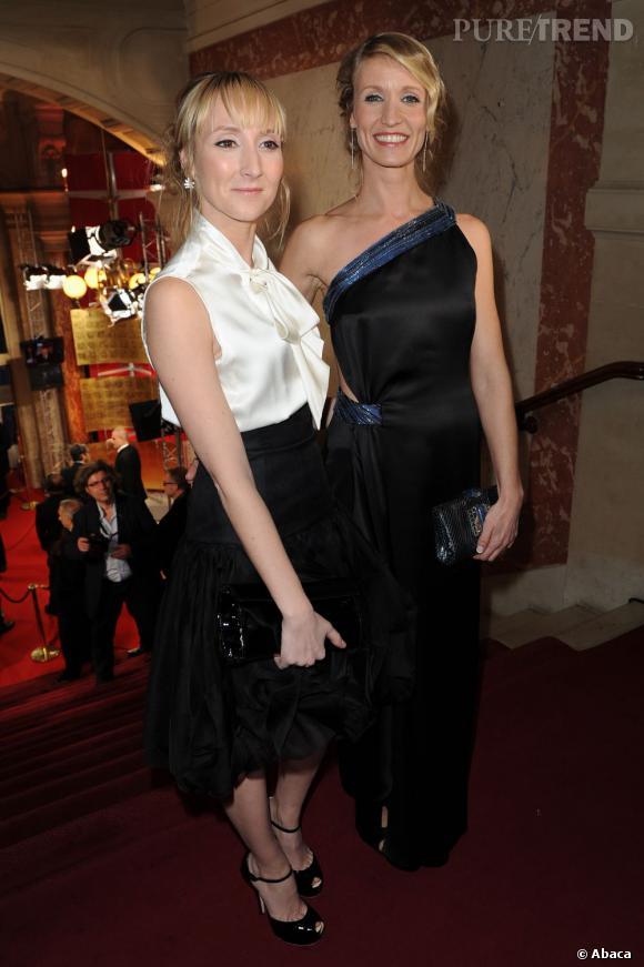 Entre soeur c'est mieux. Audrey et Alexandra Lamy.
