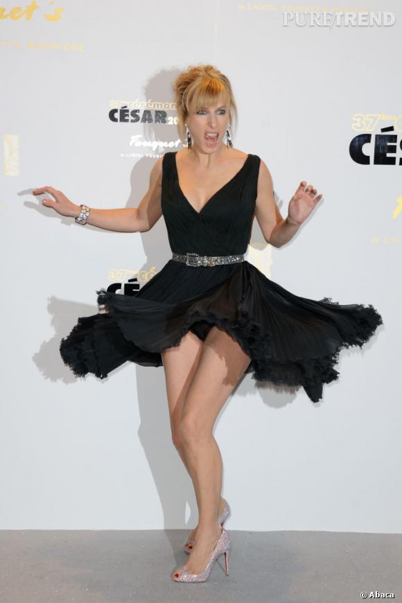 Karine Viard rejoue Marilyn.