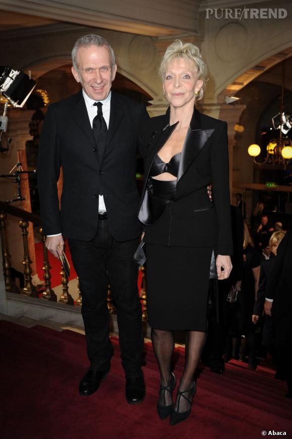 La mode a répondu présent avec Jean Paul Gaultier accompagné de Tonie Marshall.