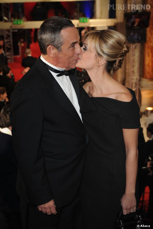 Thierry Ardisson, amoureux d'Audrey Crespo.