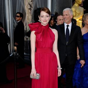 Emma Stone en Giambattista Valli.