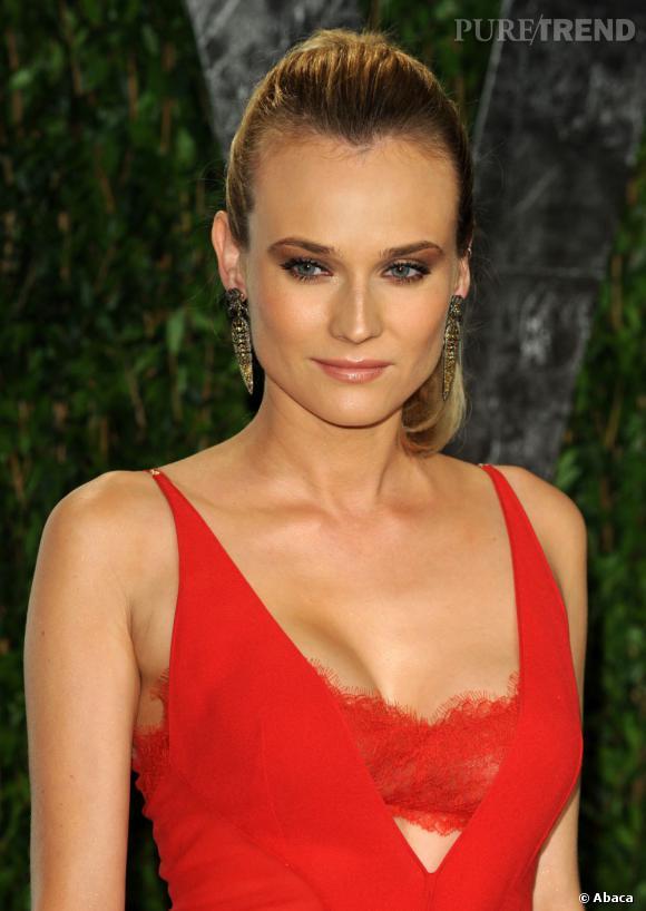 Diane Kruger lors de la soirée Vanity Fair post Oscars à Los Angeles.
