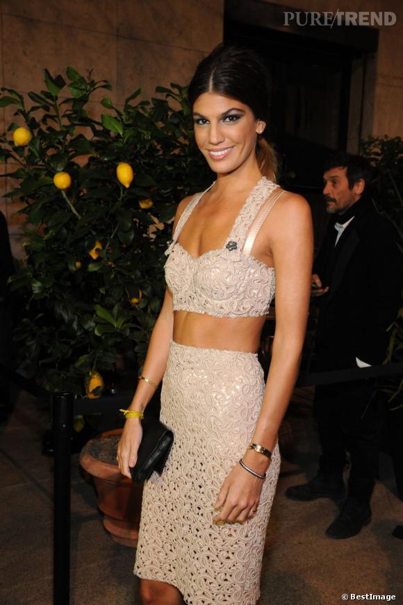 Bianca Brandolini d'Adda à la soirée Dolce & Gabbana à Milan.
