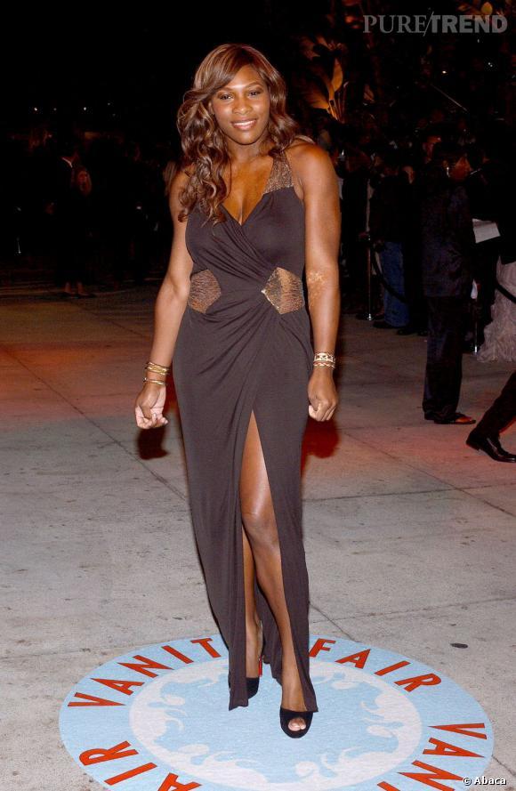 """Le top """"robe découpée"""" :  découpes légères et stratégiques, Serena Williams a enfin compris."""