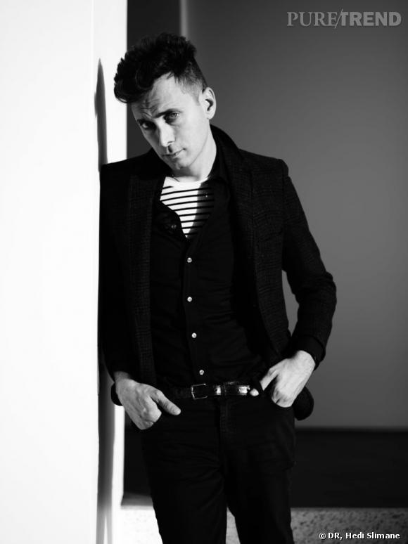Hedi Slimane, nouveau directeur artistique d'Yves Saint Laurent.