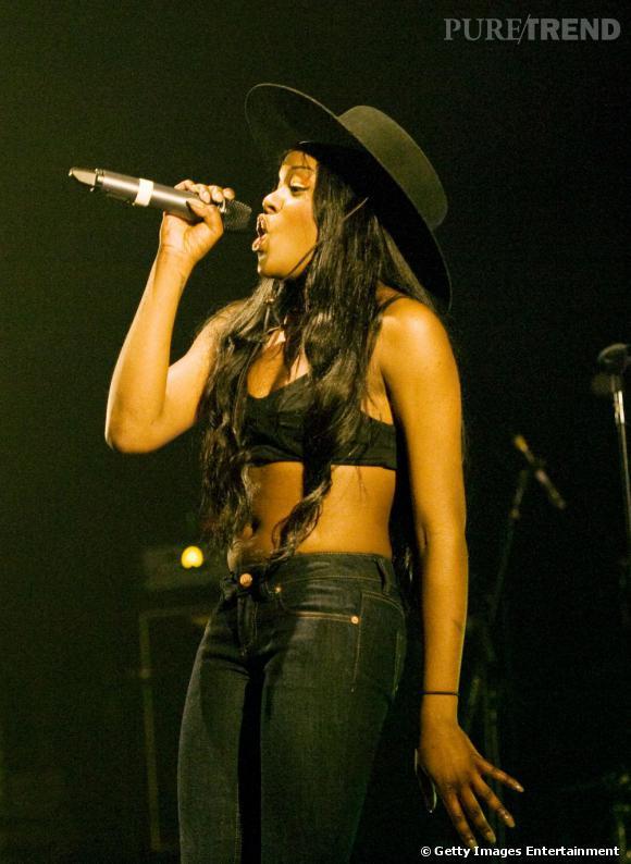 Azealia Banks, un style sexy sur scène.