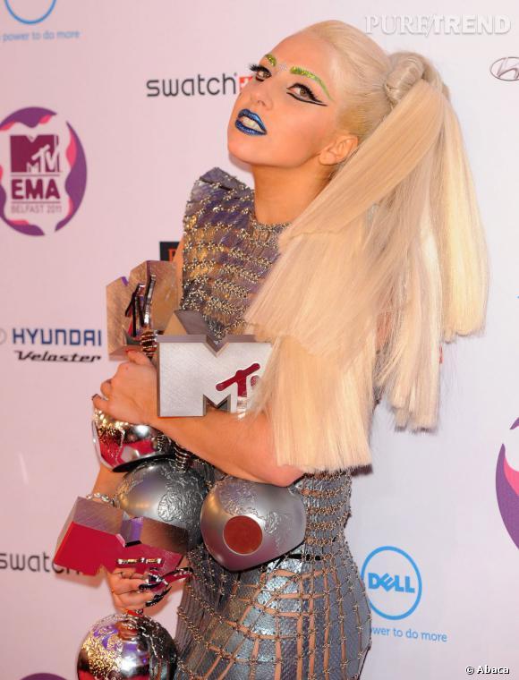 Lady Gaga, l'icône nouvelle aux hymnes pop ultra-appréciés dans la communauté gay.