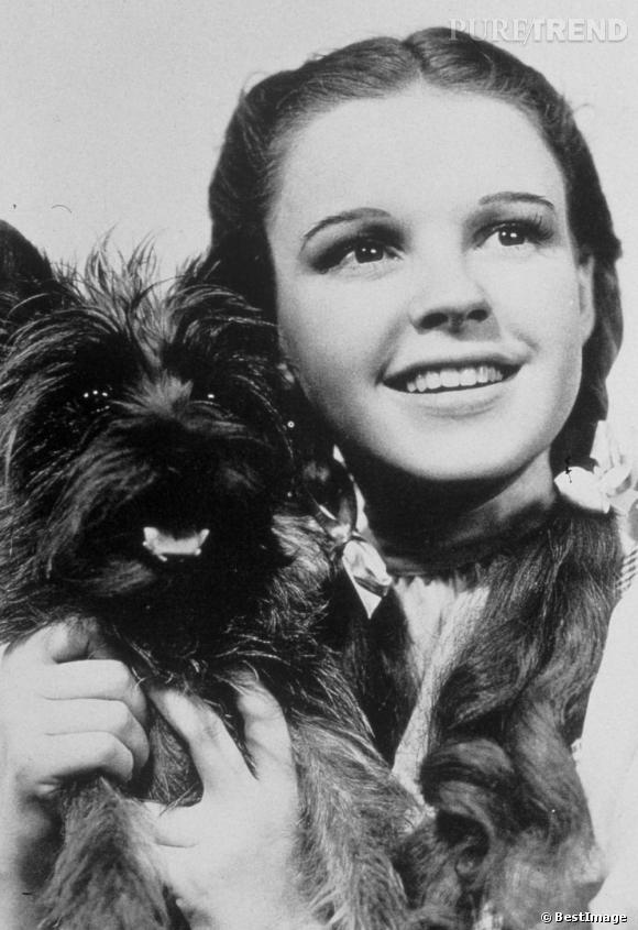 """Judy Garland, icône adorée pour ses talents scéniques et son film """"Le Magicien d'Oz""""."""
