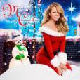 Mariah Carey pose en Mère Noël sur la pochette de son single... Osé.