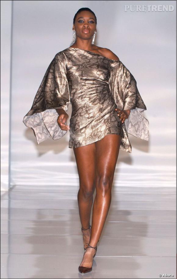 Venus Williams a même défilé... Lors d'une soirée caritative.
