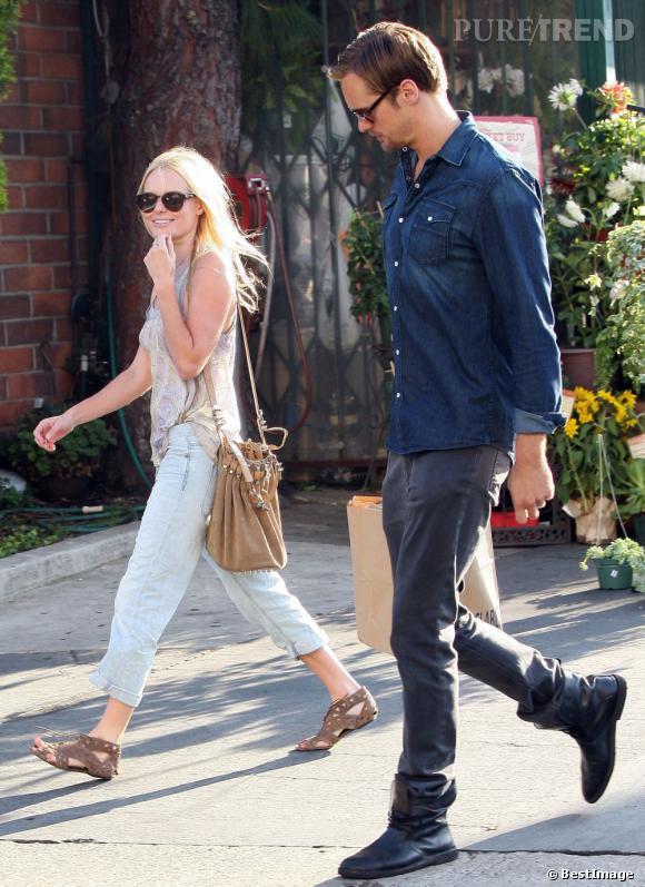 Le modèle bourse Rocco porté par Kate Bosworth.