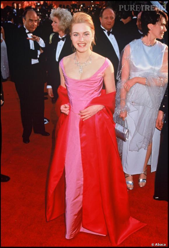 Kate Winslet rousse en 1996.