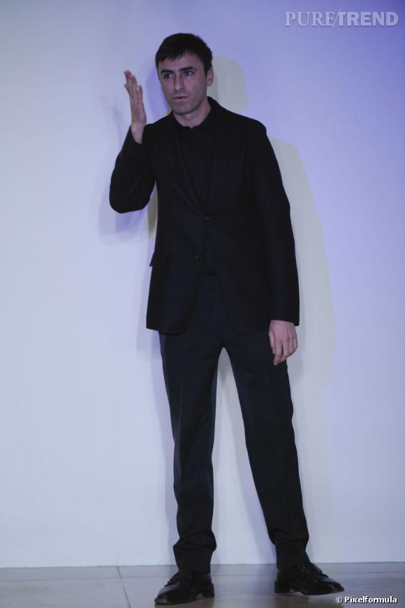 Raf Simons, nouveau directeur de la création chez Dior.