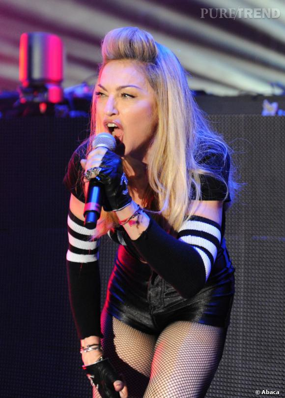 Madonna au Ultra Music Festival en marge de la Winter Music Conference à Miami.
