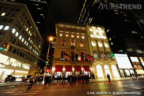 Boutique Cartier sur la Ve Avenue à New York.