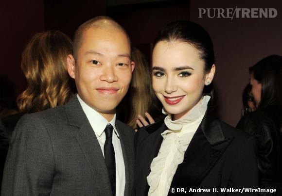 Jason Wu et Lilly Collins