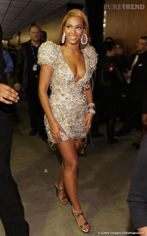 Beyoncé est une chanteuse gonflée et diablement sexy.