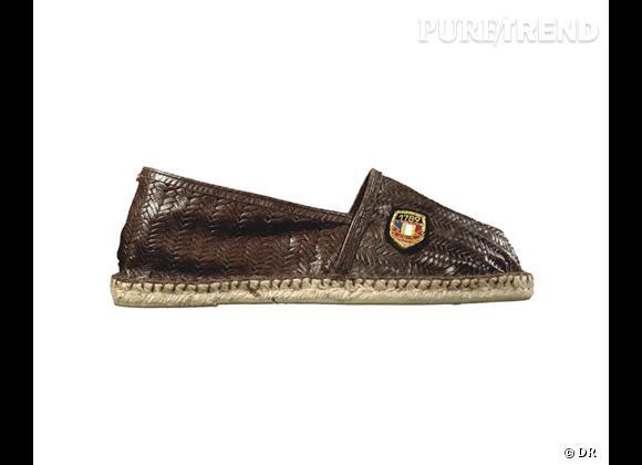 Must Have : les espadrilles Cala 1789 Cala Boat en cuir embossé façon tressage, 59 €