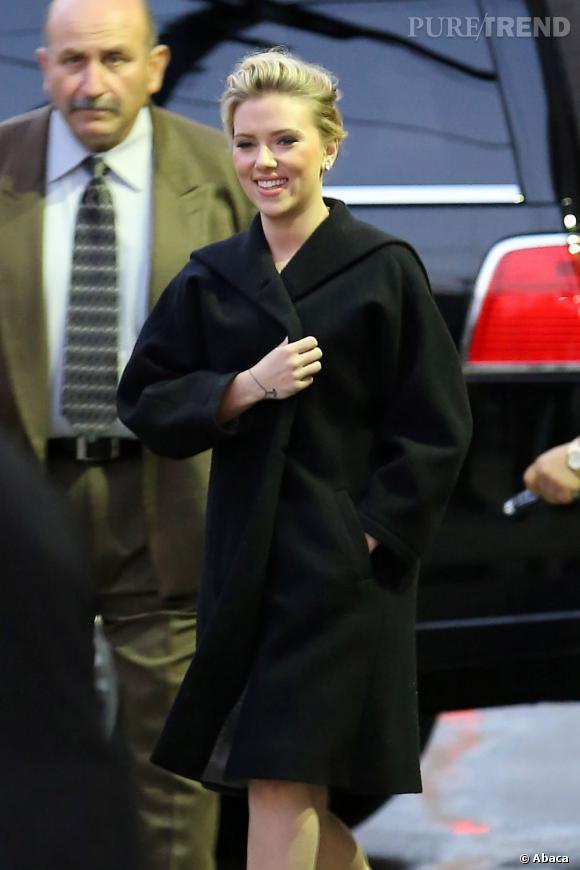 Scarlett Johansson à Los Angeles, toujours au top.