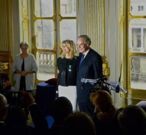 Marie France à l'honneur sous les ors de la République