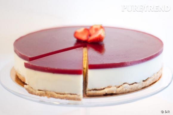 Cheesecake 0% à la fraise by It Mylk