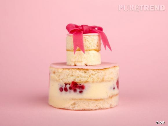 Chalala, framboisier crème légère à la rose, Chez Bogato