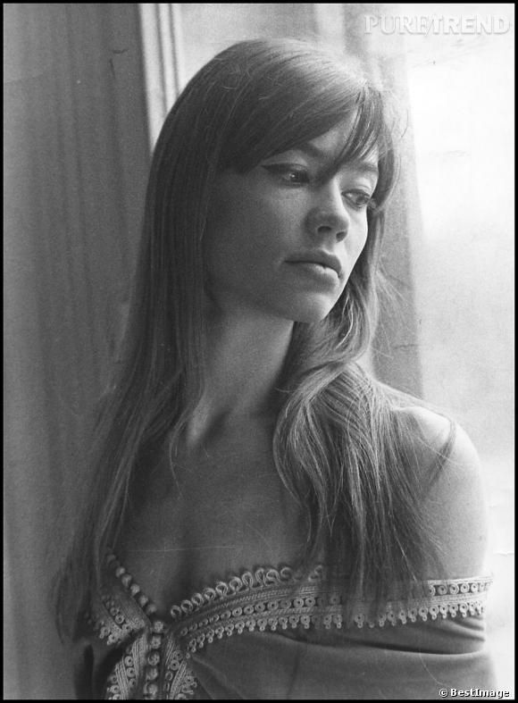 Françoise Hardy a fait les beaux jours de la frange effilée dans les années 60.