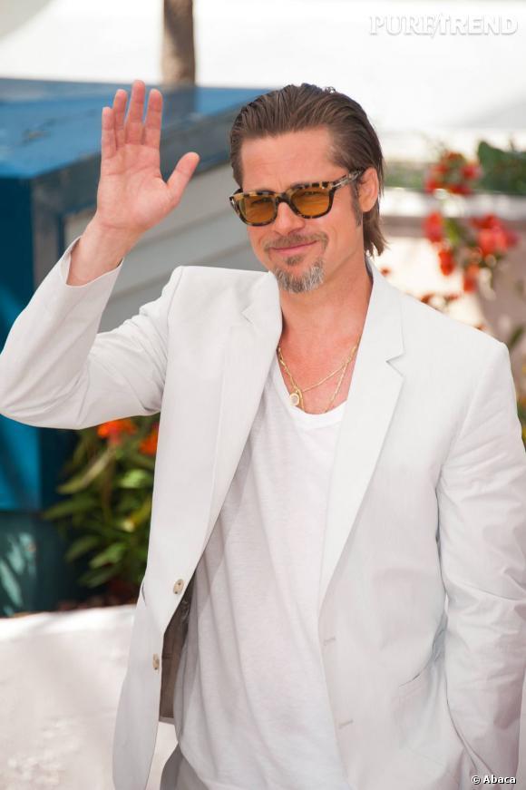 Brad Pitt, l'incontournable star cannoise.