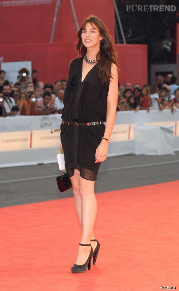 """Charlotte Gainsbourg présente à Cannes 2012 pour """"Confession d'un enfant du siècle"""" avec Pete Doherty."""