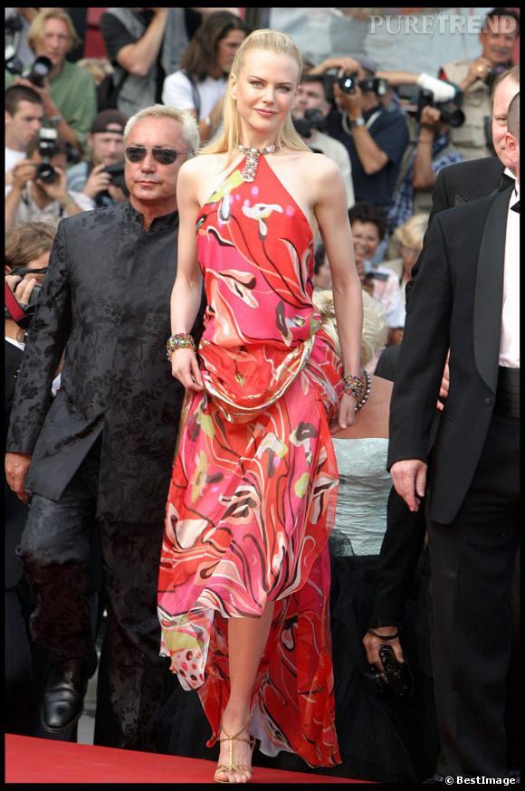Nicole Kidman présente 2 films à Cannes cette années, 20 ans après sa première montée des marches.