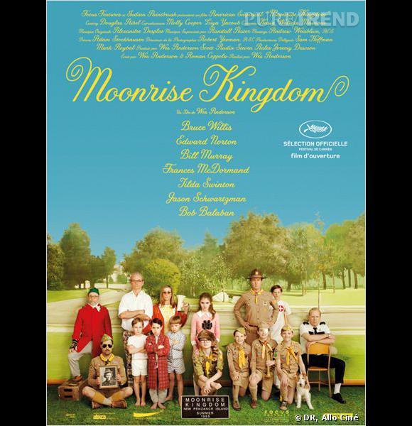 """""""Moorise Kingdom"""" de Wes Anderson."""