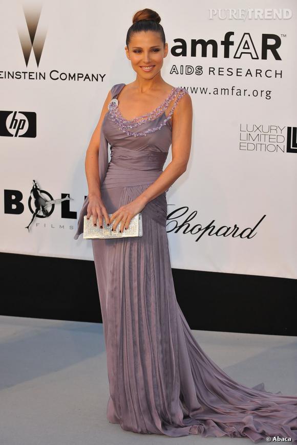 En 2008 :  le Famous foule le red carpet porté par Elsa Pataky.