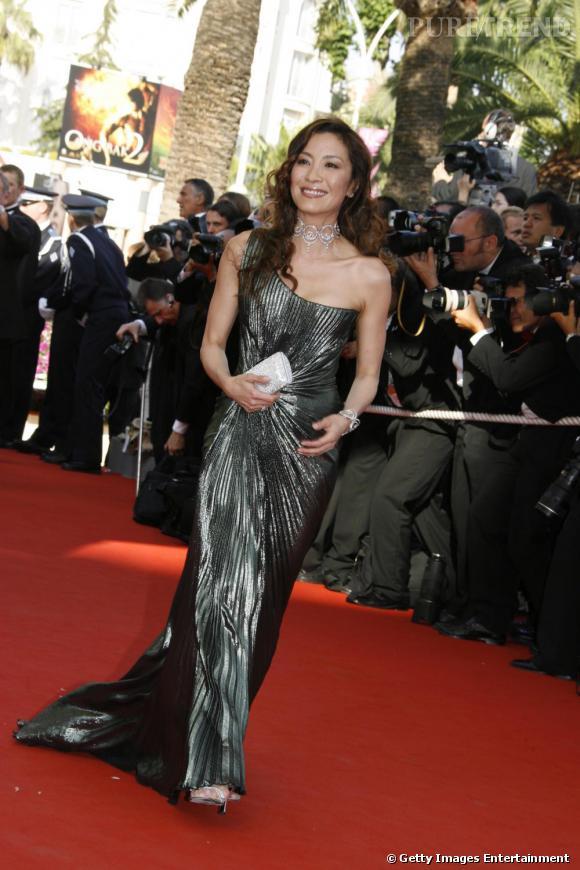 En 2006 :  L'Arielle fait surface sur le red cartpet au bras de Michelle Yeoh.