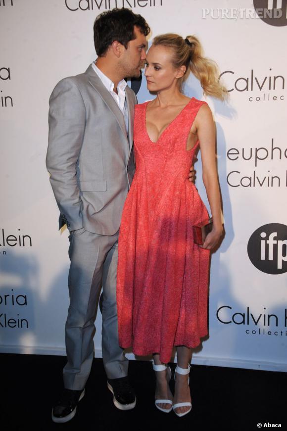 Diane Kruger à la soirée Women in Film sponsorisée par Calvin Klein.