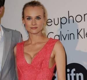 Cannes 2012 : Diane Kruger, transparence et décolleté