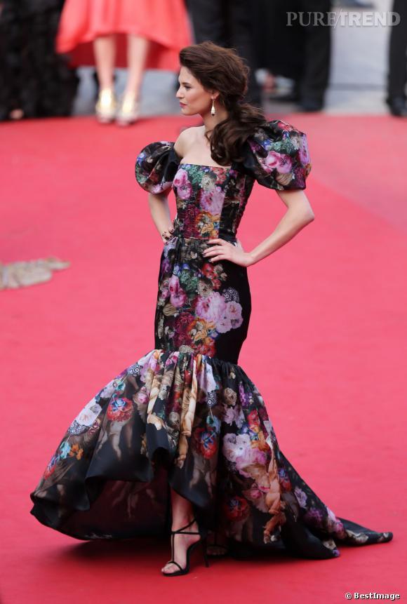 Bianca Balti fait sensation à Cannes.