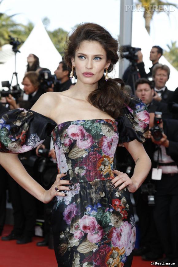 La muse des Dolce & Gabbana, la plus belle ambassadrice de l'Italie à Cannes.