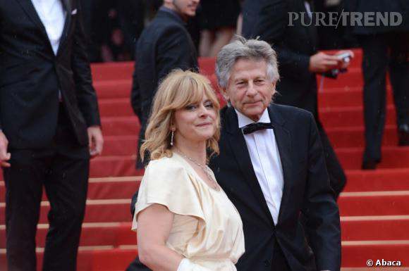 """Roman Polanski et Nastassja Kinsky lors de la montée des marches de """"Vous n'avez encore rien vu""""."""