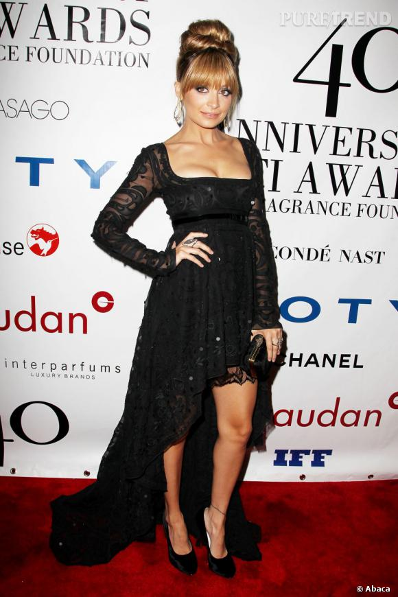 Nicole Richie au 40ème anniversaire de Fifi Awards 2012 à New York.