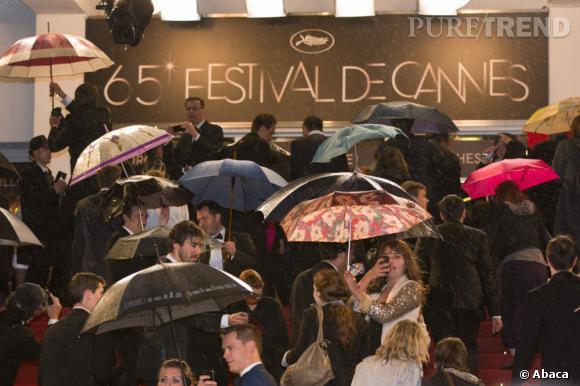 Cannes sous la pluie, c'est moins pratique.