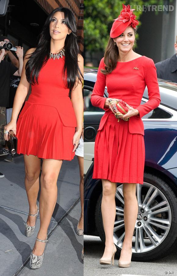 Kim Kardashian VS Kate Middleton: quand la mode trash affronte la mode classe