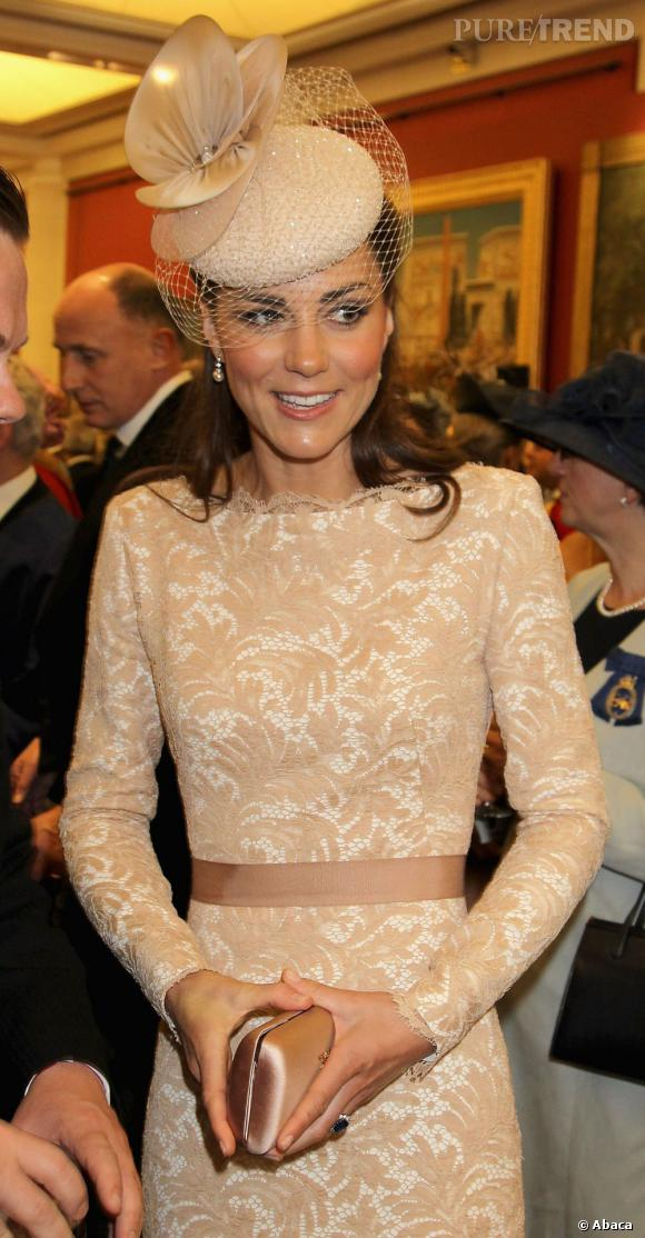 Kate Middleton continue son marathon pour le jubilé de la Reine.