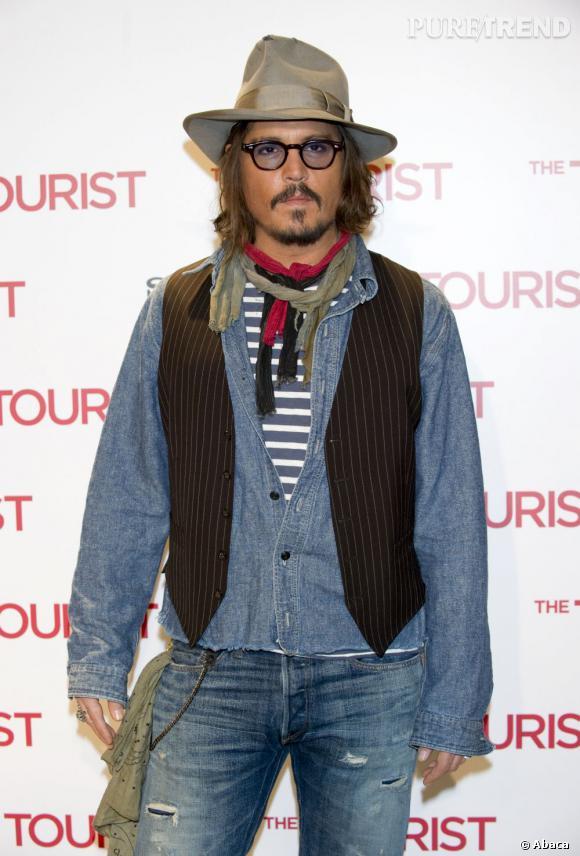 Johnny Depp l'acteur hollywoodien fête aujourd'hui ses 49 ans.