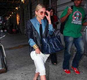 Ashley Olsen, le chic 70's... A shopper !